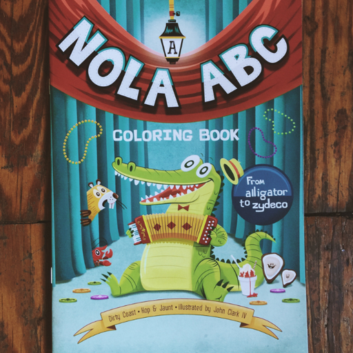 Dirty Coast Press Book Nola ABC Coloring & Activities Book