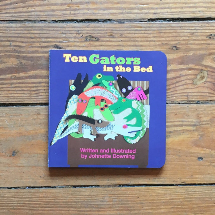 Dirty Coast Press Book Ten Gators in the Bed