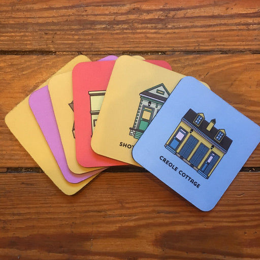 Dirty Coast Press Coasters Architecture Coasters