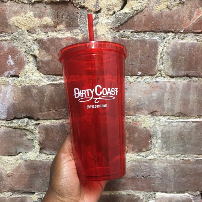 Dirty Coast Press Go-Cup 20 oz. (Red) The Dirty Coast Go Cup