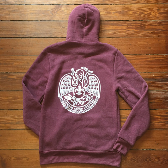 Dirty Coast Press Hoodie Acadiana Hoodie