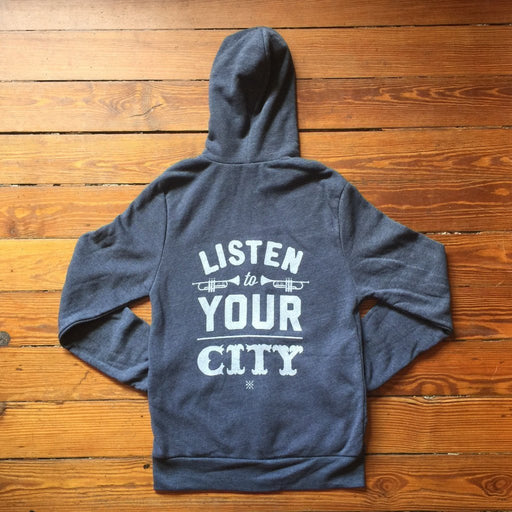 Dirty Coast Press Hoodie Listen To Your City Hoodie
