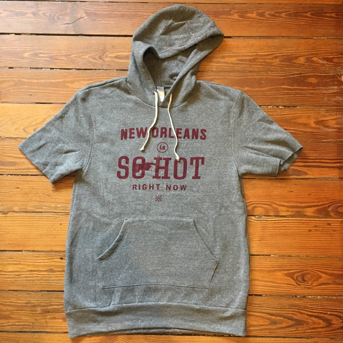 Dirty Coast Press Hoodie NOLA Is So Hot Right Now Hoodie