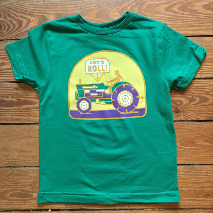 Dirty Coast Press Kid Shirt Let's Roll