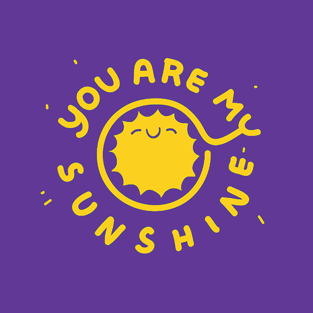 Dirty Coast Press Kid Shirt You Are My Sunshine Kids