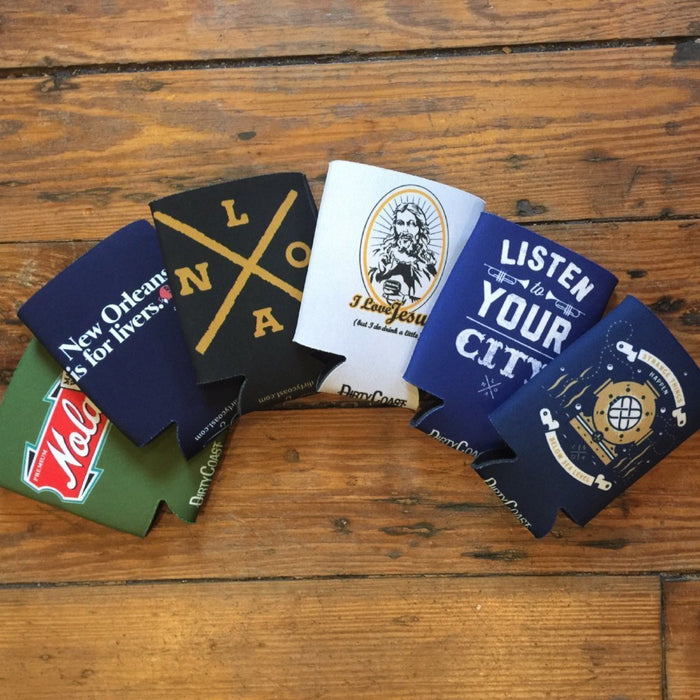 Dirty Coast Press Koozie Koozie 5-Pack Koozies