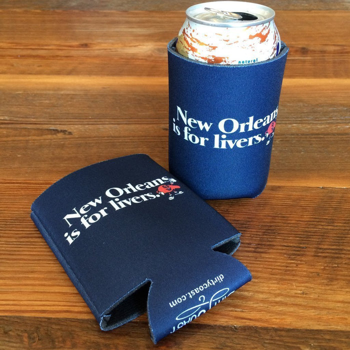 Dirty Coast Press Koozie Koozies