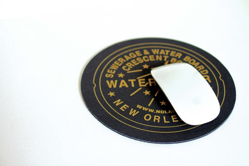 Dirty Coast Press Mousepad Black Water Meter Mousepad