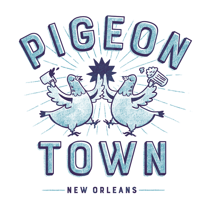 Dirty Coast Press Pigeon Town