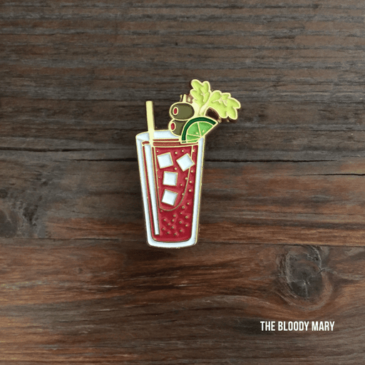 Dirty Coast Press Pins Single Pin Bloody Mary Enamel Pin