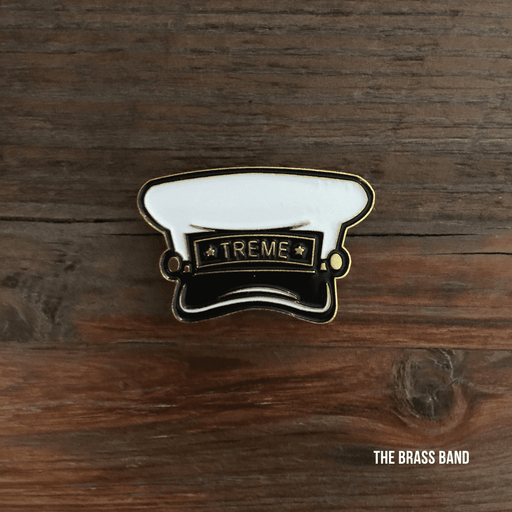 Dirty Coast Press Pins Single Pin Brass Band Enamel Pin