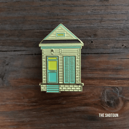 Dirty Coast Press Pins Single Pin Shotgun House Enamel Pin