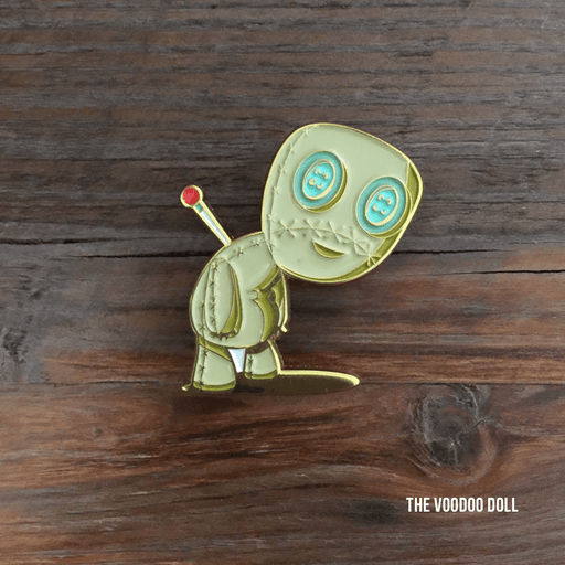 Dirty Coast Press Pins Single Pin Voodoo Doll Enamel Pin