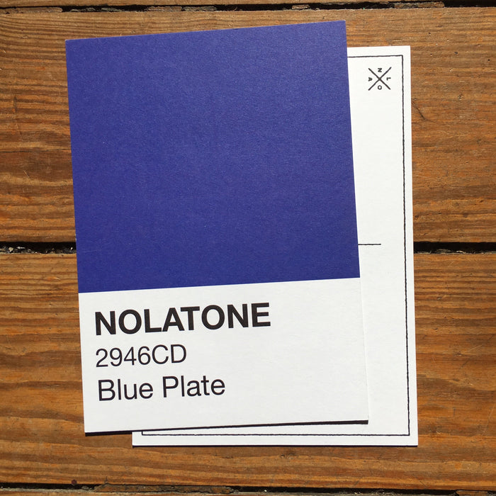 Dirty Coast Press Postcard Nolatones Postcard - Blue Plate