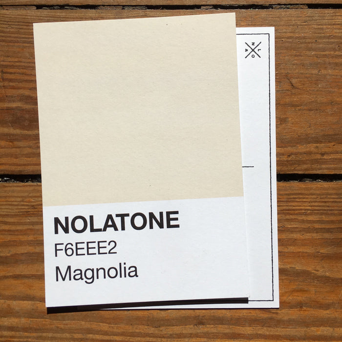 Dirty Coast Press Postcard Nolatones Postcard - Magnolia