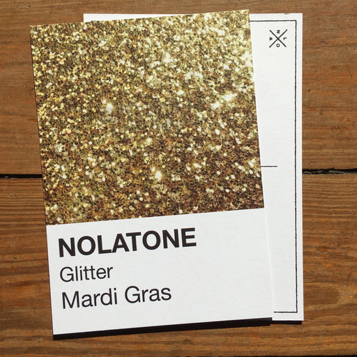 Dirty Coast Press Postcard Nolatones Postcard - Mardi Gras