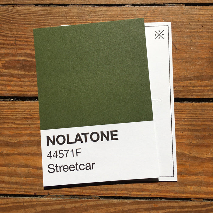 Dirty Coast Press Postcard Nolatones Postcard - Streetcar