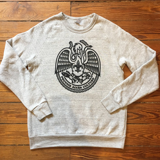Dirty Coast Press Shirt Acadiana Self-Reliance Sweatshirt