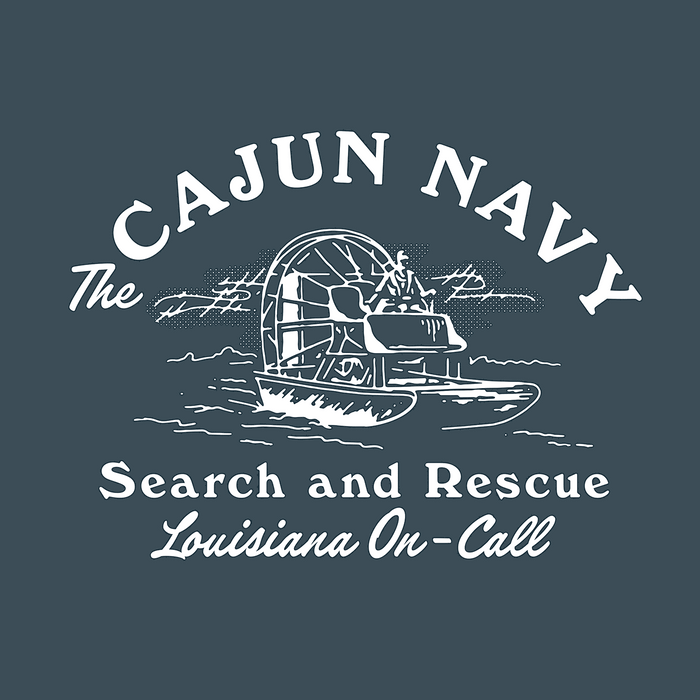 Dirty Coast Press Shirt Cajun Navy / Louisiana On-Call