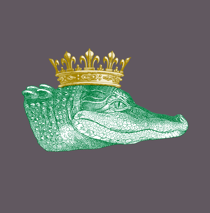 Dirty Coast Press Shirt King Gator