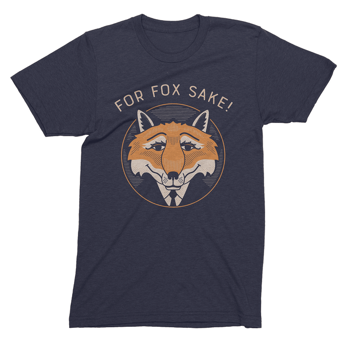 Dirty Coast Press Shirt Men's Small For Fox Sake