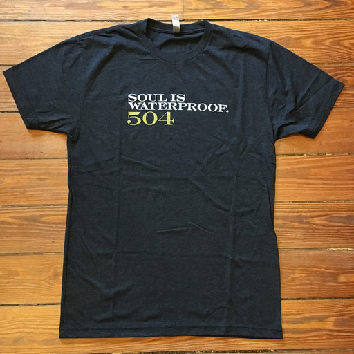 Dirty Coast Press Shirt Soul is Waterproof Limited Edition
