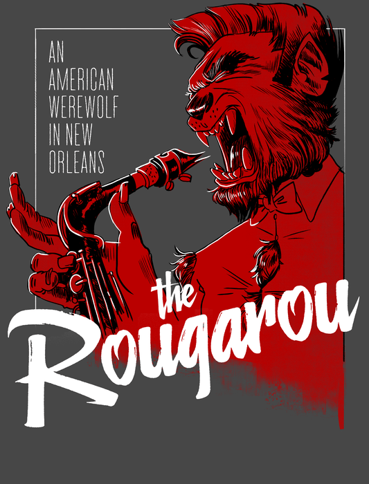 Dirty Coast Press Shirt The Rougarou