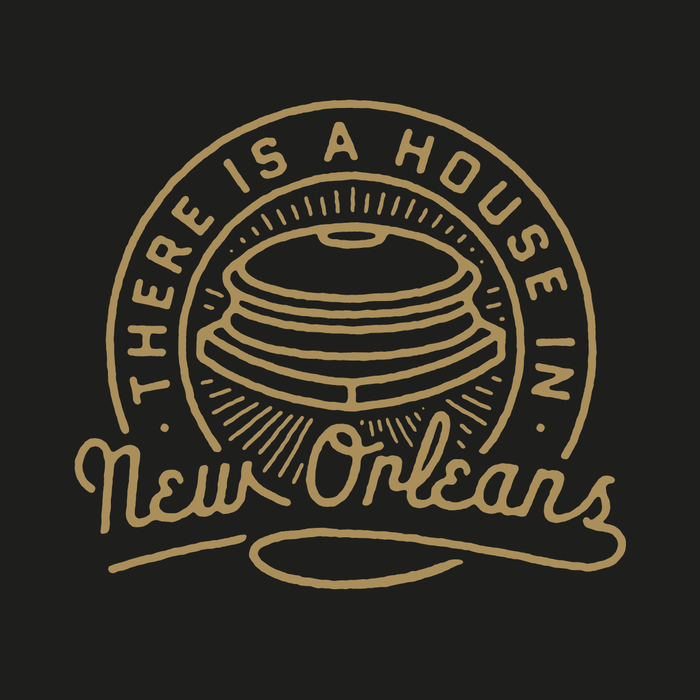 Dirty Coast Press Shirt There is a House in New Orleans