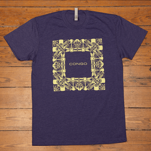 Dirty Coast Press Shirt Unisex Small Congo Square
