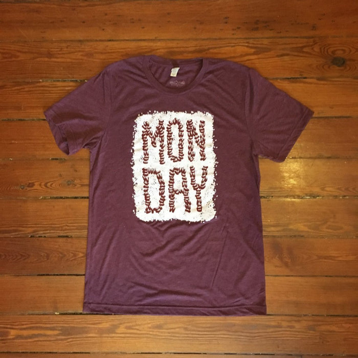 Dirty Coast Press Shirt Unisex Small Monday