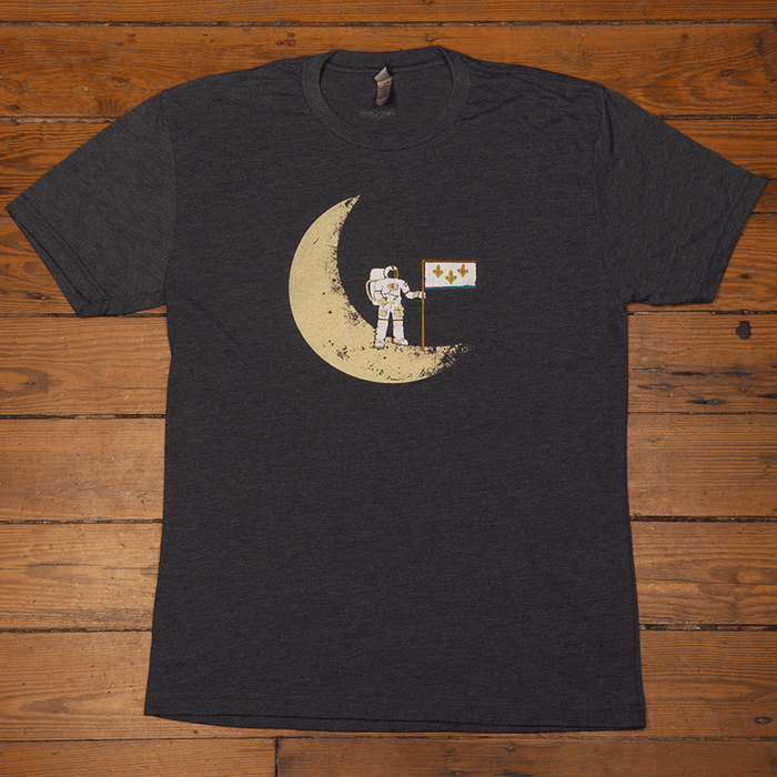 Dirty Coast Press Shirt Unisex Small Moonwalk