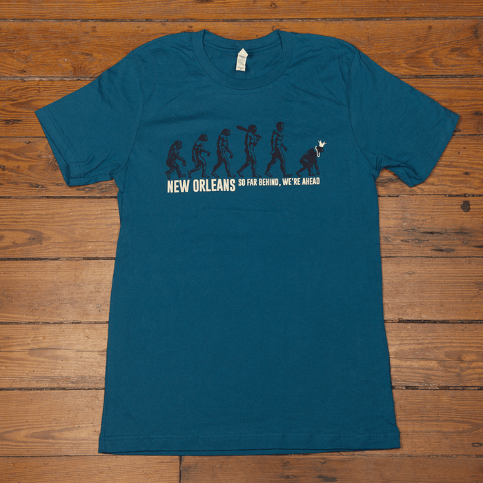Dirty Coast Press Shirt Unisex Small New Orleans. So Far Behind, We're Ahead.