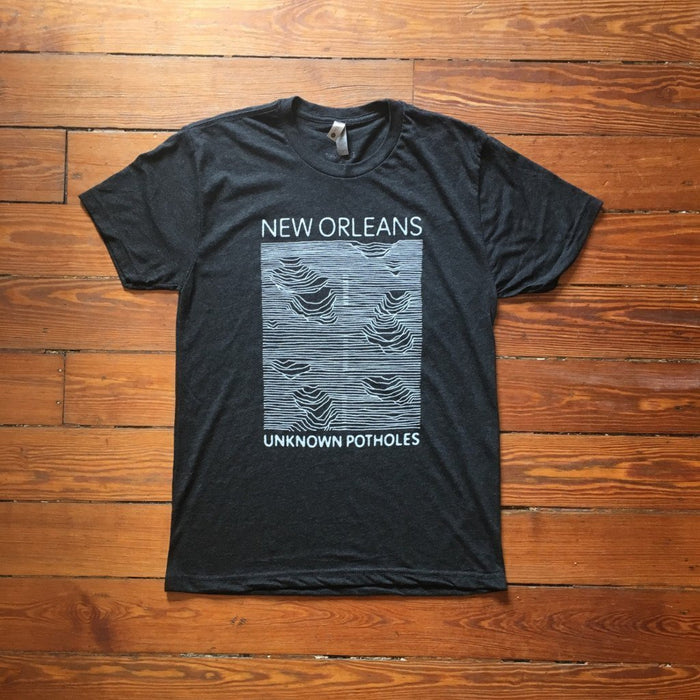 Dirty Coast Press Shirt Unisex Small Unknown Potholes
