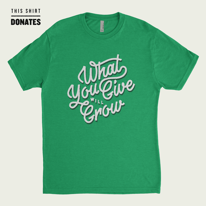 Dirty Coast Press Shirt What Give Will Grow