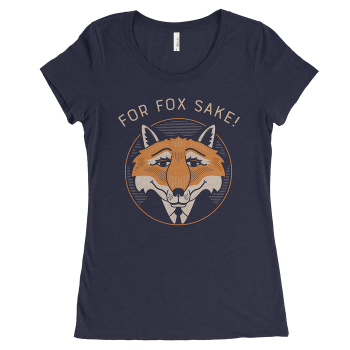 Dirty Coast Press Shirt Women's Small For Fox Sake