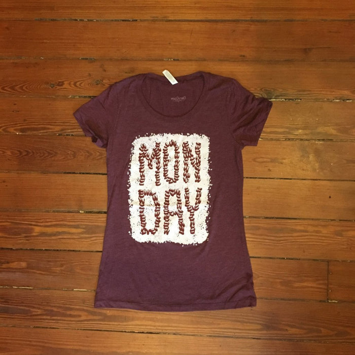 Dirty Coast Press Shirt Women's Small Monday