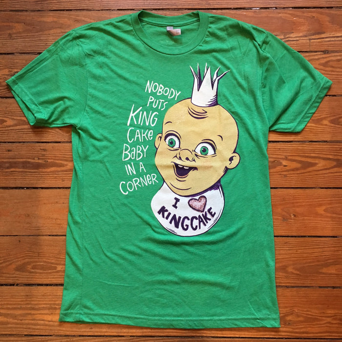 Dirty Coast Press T-Shirt The King Cake Baby