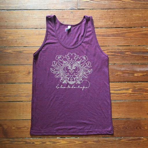 Dirty Coast Press Tank Top Unisex Small Beauty of Entropy Tank Top