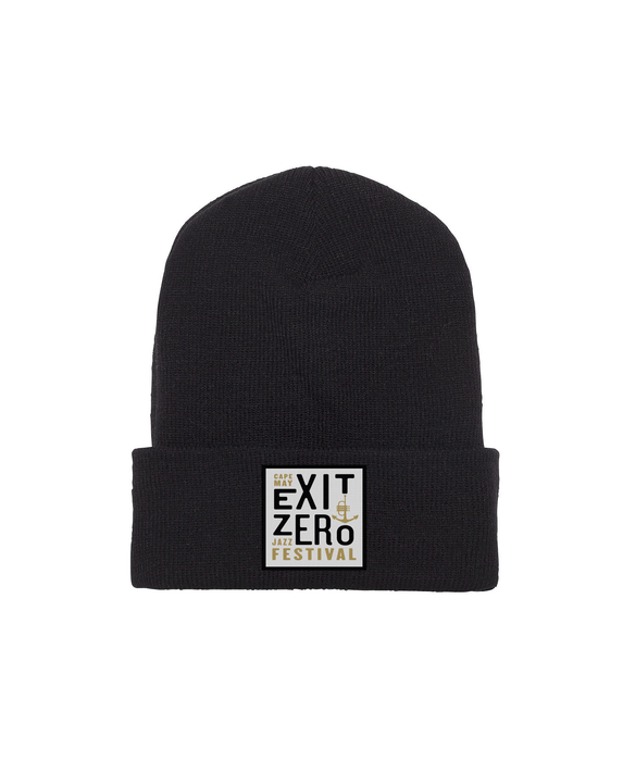 Embroidered Patch Beanie for Exit Zero