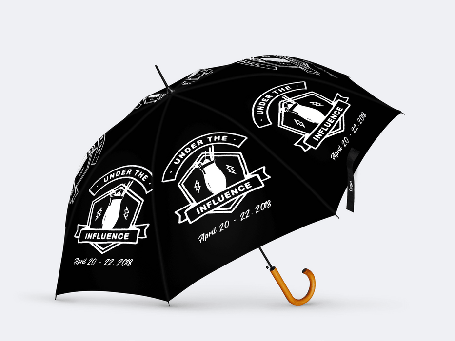 Under The Influence Secondline Umbrella