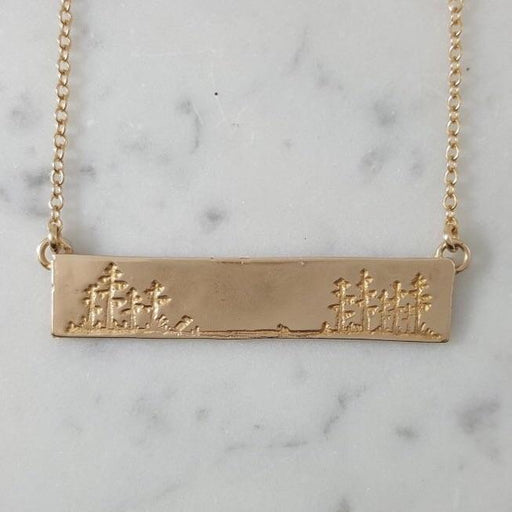 Mimosa Jewelry Cajun City Skyline Necklace