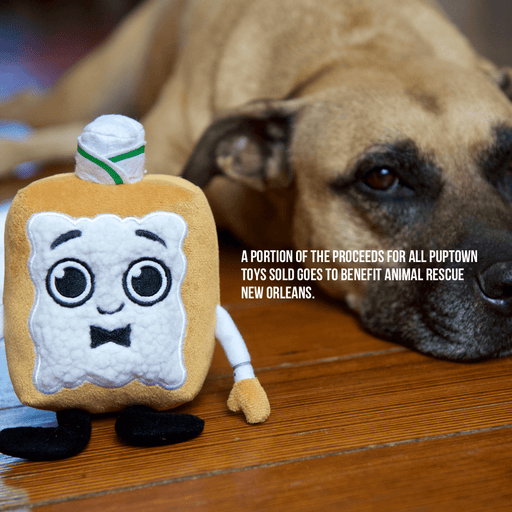 PupTown Pets PupTown Dog Toys - Benji the Beignet
