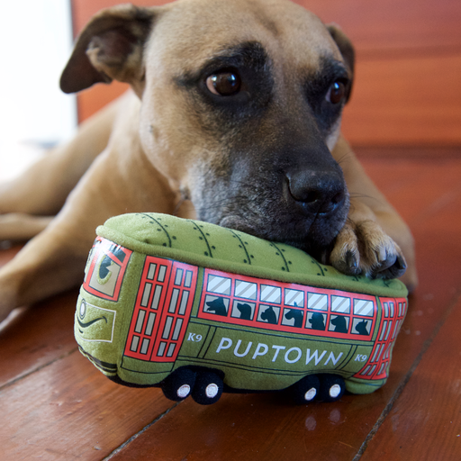 PupTown Pets PupTown Dog Toys - Mr. Streetcar