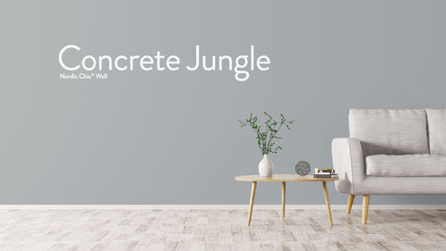 Concrete Jungle- Vegg