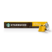 NEW! Starbucks® BLONDE Espresso Roast - x10 capsulas By Nespresso