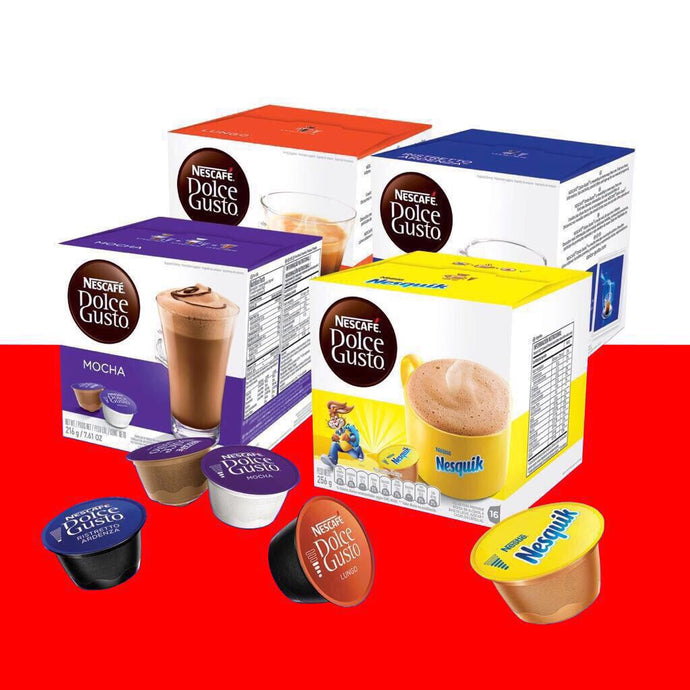 Pack x5 Cajas x16 Capsulas Dolce Gusto