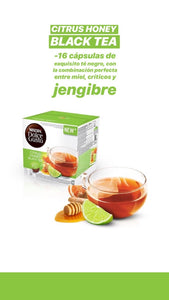 SALE! Pack x48 cápsulas Dolce Gusto - Citrus Honey Black Tea