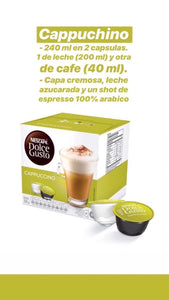 Pack x48 cápsulas Dolce Gusto - Cappuchino
