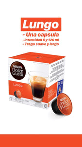 PROMO! Pack x48 cápsulas Dolce Gusto - Lungo