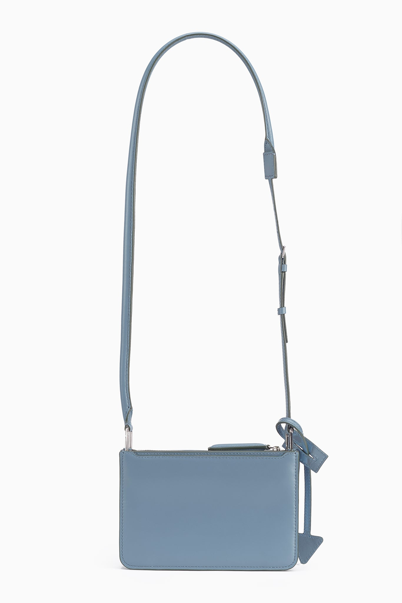 Troisième Small Crossbody Pouch in Lake
